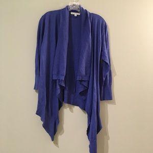 CAbi Chelsea Topper Royal Blue Cardigan #835